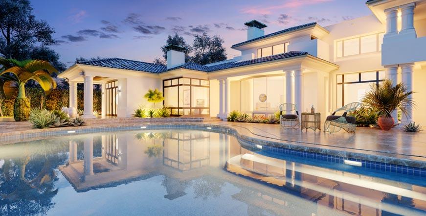 premium residential pool